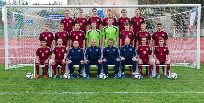 В субботу, 26 марта, юношеская сборная России (игроки