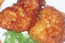Куриная отбивная в картофельной панировке Ингредиенты: 2 филе