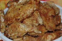 Куриные отбивные в сырном кляре Ингредиенты: Куриное филе