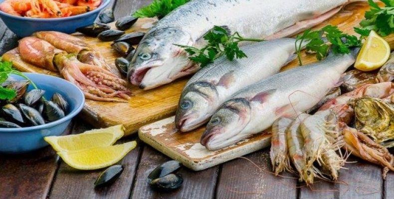 Рыба и морепродукты в Астане