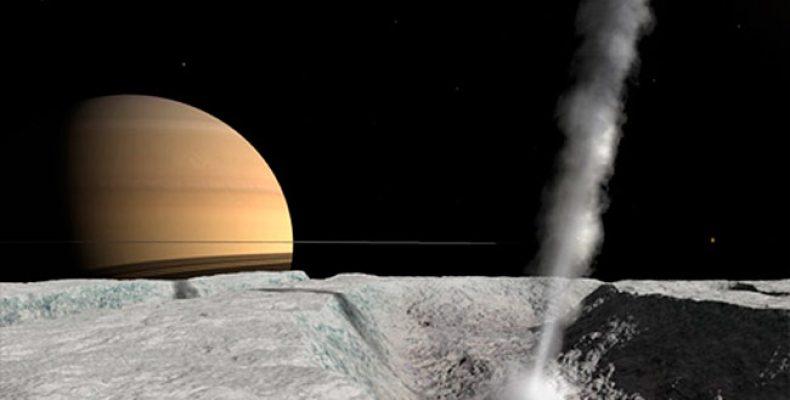 На спутнике Сатурна Энцеладе найдены свидетельства жизни