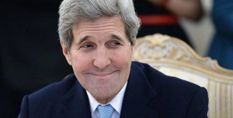 США обратились к Путину с просьбой принять Керри