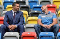Матч-реванш между украинцем Владимиром Кличко и британцем Тайсоном
