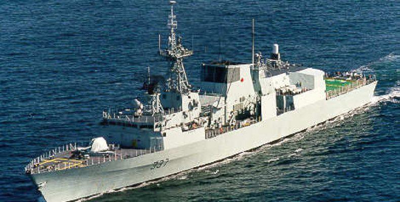 Канадский фрегат «Фредериктон» зашел в Черное море Фрегат