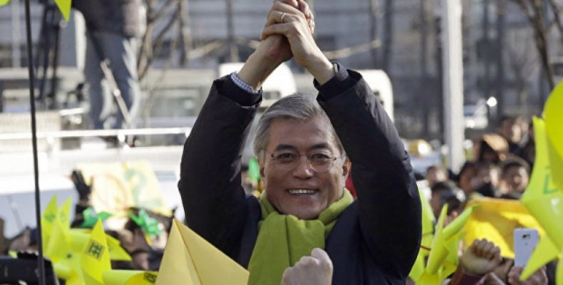 Примерно 40% избирателей проголосовали за Мун Чжэ Ина