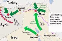 Иракцы наступают на Мосул, США оказывают им артподдержку