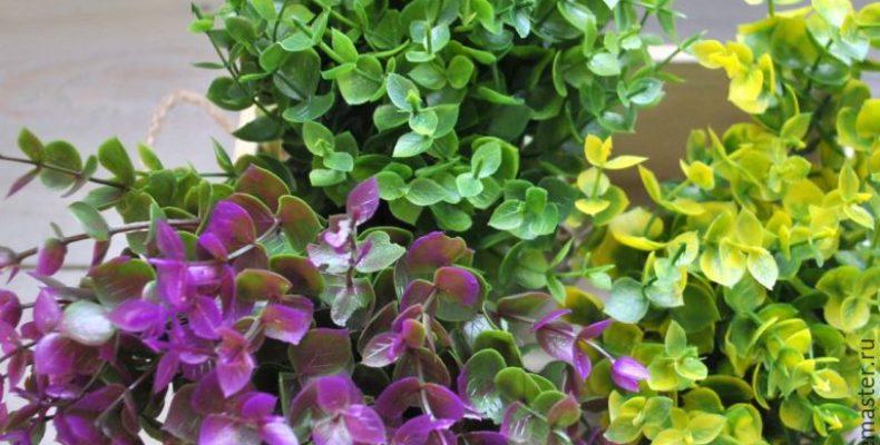 Чудесная зелень в букетах
