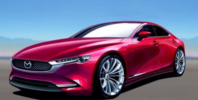 Новая Mazda дебютирует в первой половине 2022 года