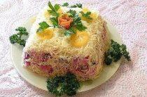 12 рецептов красивых салатов Салат «Королевский» Когда селедка