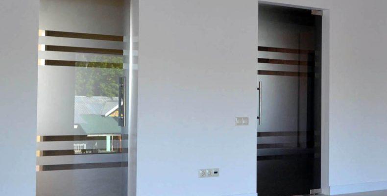Стеклянные двери: разновидности и специфика внедрения