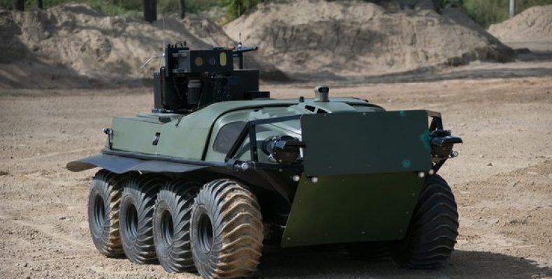 РВСН испытают на учениях нового робота – охранника