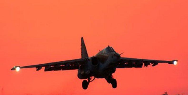 Штурмовики Су-25 атаковали позиции условных боевиков под Оренбургом