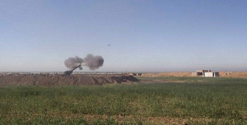 """Артиллерия морской пехоты США в Ираке Газета """"Washington"""