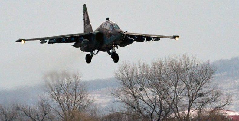 Штурмовик Су-25 разбился в Приморье Боевой самолет Су-25