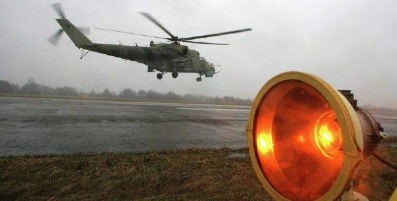 Вертолеты Ми-24 примут участие в масштабном учении на
