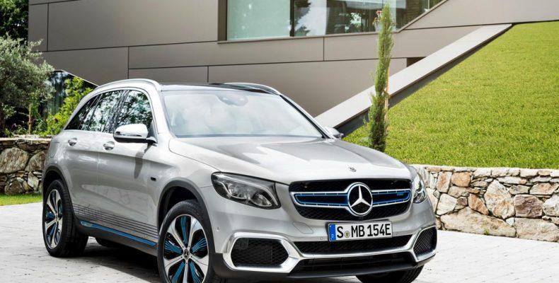 Мощный и проходимый Mercedes-Benz GLC