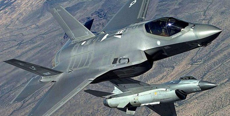 """F-35 и F-16. Ведомый """"без головы"""" Лаборатория ВВС"""