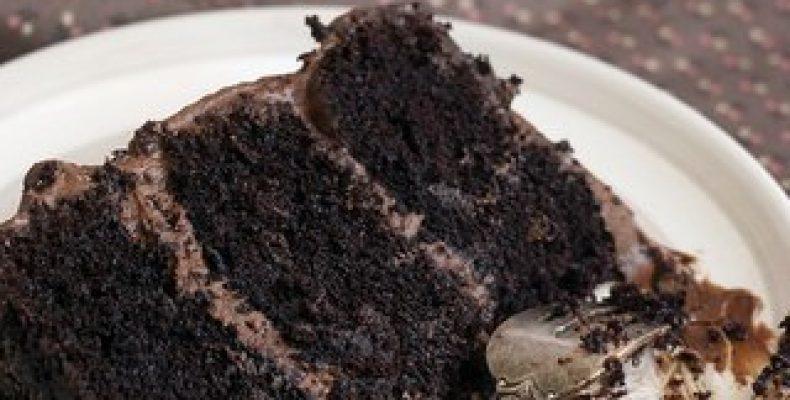 Шоколадный торт. Идеальный. Казалось бы ну шоколадный торт.