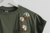 Вышитое имя – изюминка стильной футболки