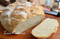 Пшенично-ржаной хлеб в духовке от Елены Калининой. Предлагаю