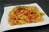 Паста Аматричиана Ингредиенты: -Спагетти — 400 Грамм -Помидоры