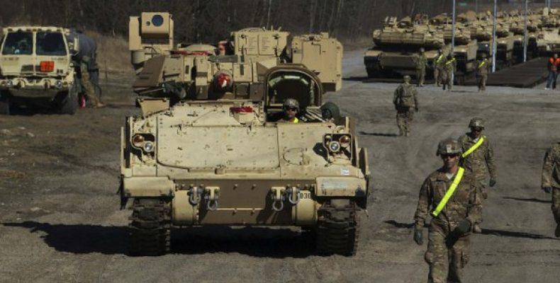 США разместят в Восточной Европе танковую бригаду Пентагон