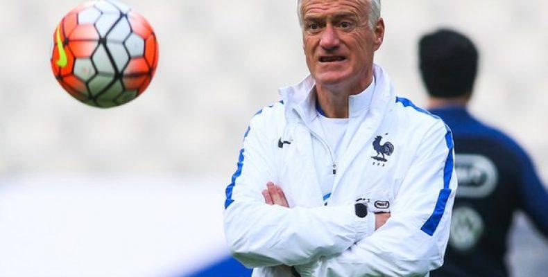 Главный тренер сборной Франции Дидье Дешам накануне матча