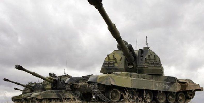 Тактическое учение с мотострелковым соединением ВВО завершилось боевой