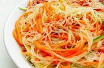 Фунчоза по-корейски Вермишель фунчоза – 145 г, морковь