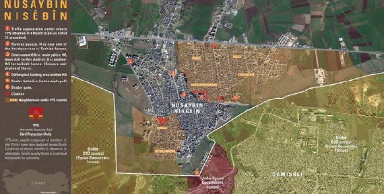 Курды удерживают под контролем почти половину турецкого города