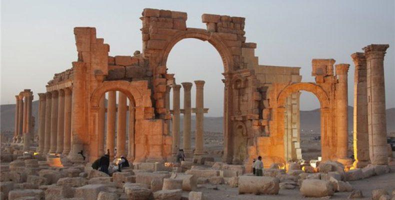 Сирийская армия вошла на территорию Пальмиры Сирийская армия