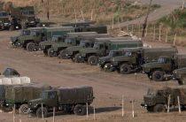 Армянская армия перешла в наступление в зоне карабахского