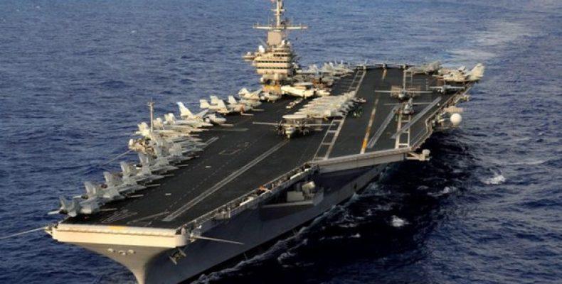 Авианосная группа ВМС США совершает маневры в Южно-Китайском
