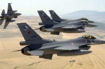 Турецкие ВВС нанесли авиаудары по объектам сирийских курдов