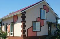 Отделка фасада частного дома и новостройки