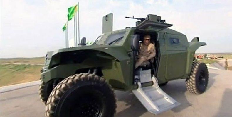 Президент Туркмении разъезжает на новом израильском бронеавтомобиле Президент