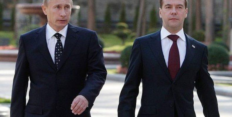 Медведев показал Путину план по будущему развитию экономики страны