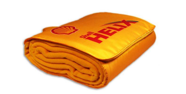 Технология текстильной (промышленной) печати. Пледы с нанесением логотипа
