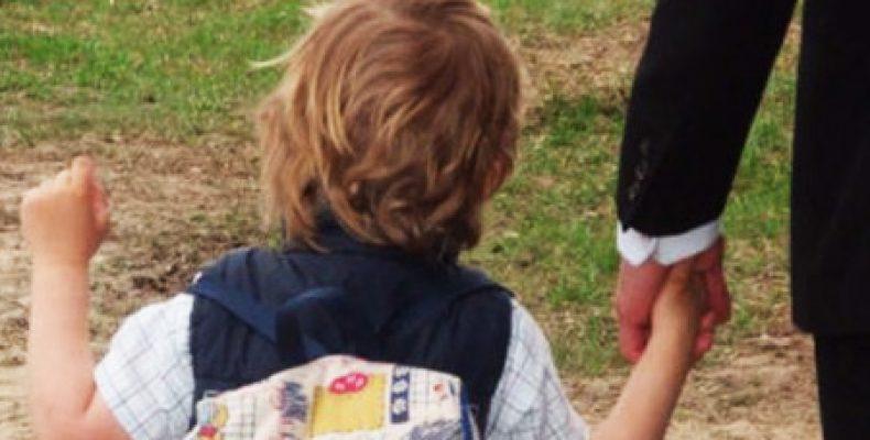 Похищен трехлетний ребенок