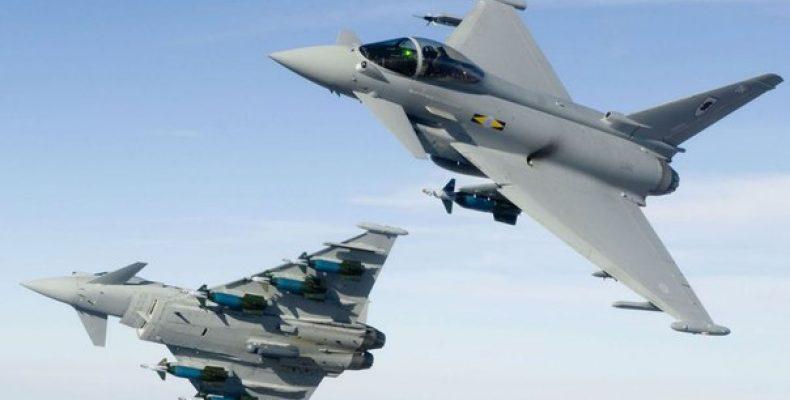 Истребители НАТО сопровождали самолет Шойгу над Балтикой Самолет