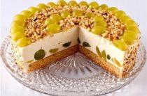 5 самых простых тортов без выпечки. 1.Творожно-фруктовый торт
