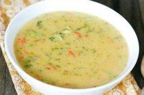 Сырный суп с рисом Ингредиенты: -Куриное филе —