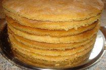 Как быстро приготовить коржи для торта? Коржи для