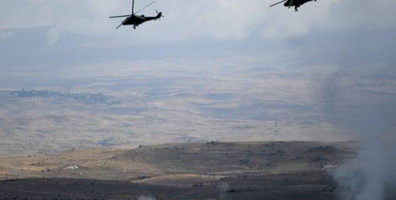 В зоне карабахского конфликта начались активные боевые действия