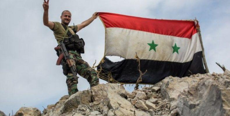 Сирийские войска освободили Пальмиру Бойцы сирийской армии и