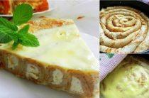 Блинный пирог с творожной начинкой Ингредиенты: Готовые тонкие