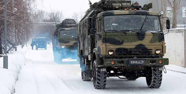 Подразделения Ульяновского десантно-штурмового соединения ВДВ прибыли в Оренбургскую