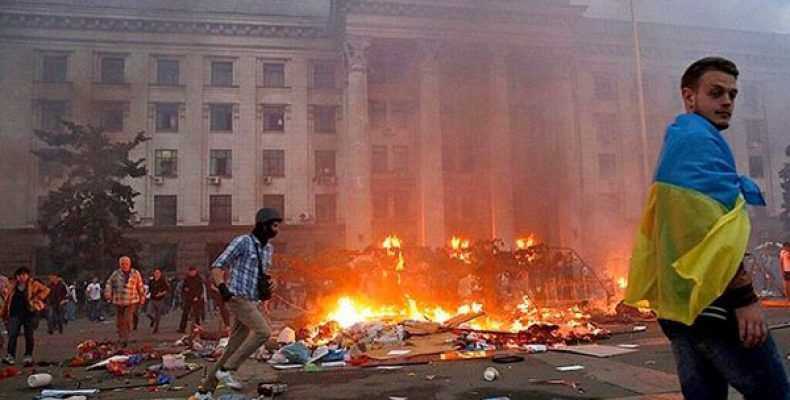 Глава одесских «правосеков» угрожает силовикам ещё одним «2