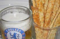 Овсяные палочки с сыром Отличная закуска к пиву,