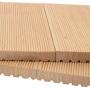 Одной из популярнейших видов современных пиломатериалов является террасная доска